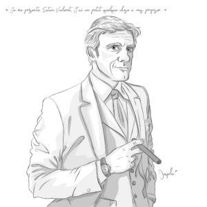 Illustration La Brigade du Surnaturel, Satan vaderet directeur du bureau des tentations âmes et compagnie