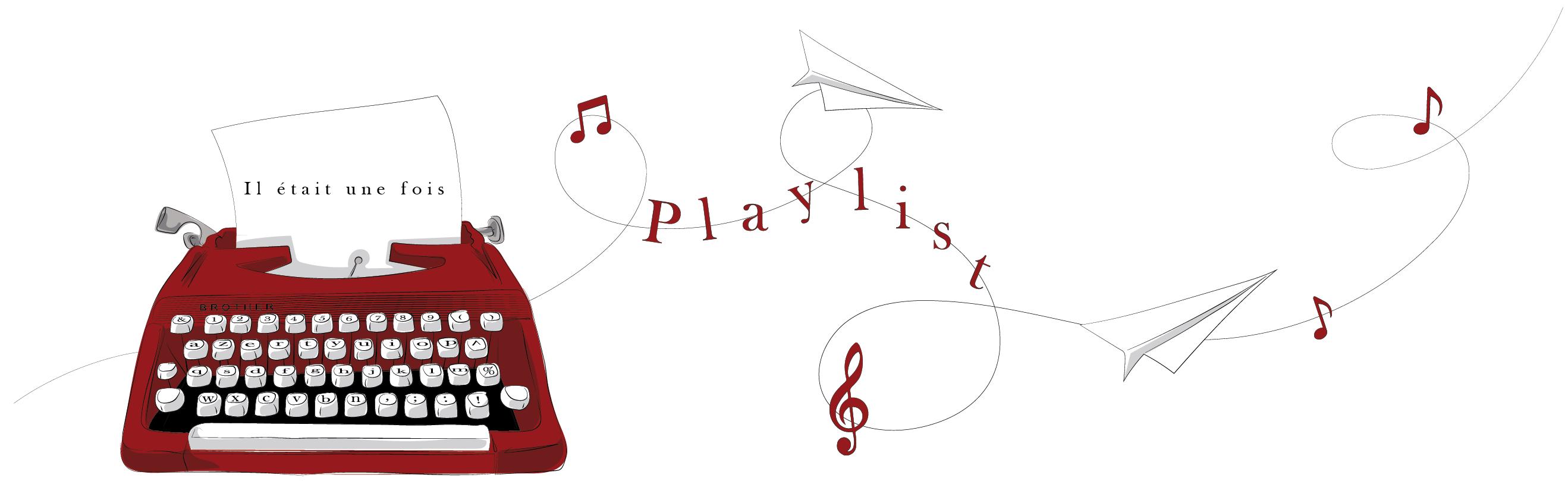 Bannière playlist inspiration et lecture La Brigade du Surnaturel sur Spotify