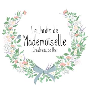 logo le jardin de mademoiselle thé et infusions