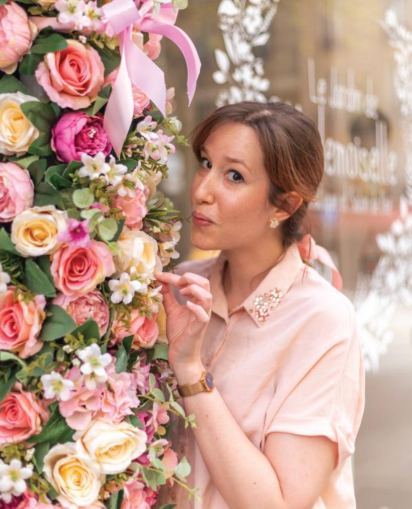 Floriane IMPALA autrice portrait fleurs printemps