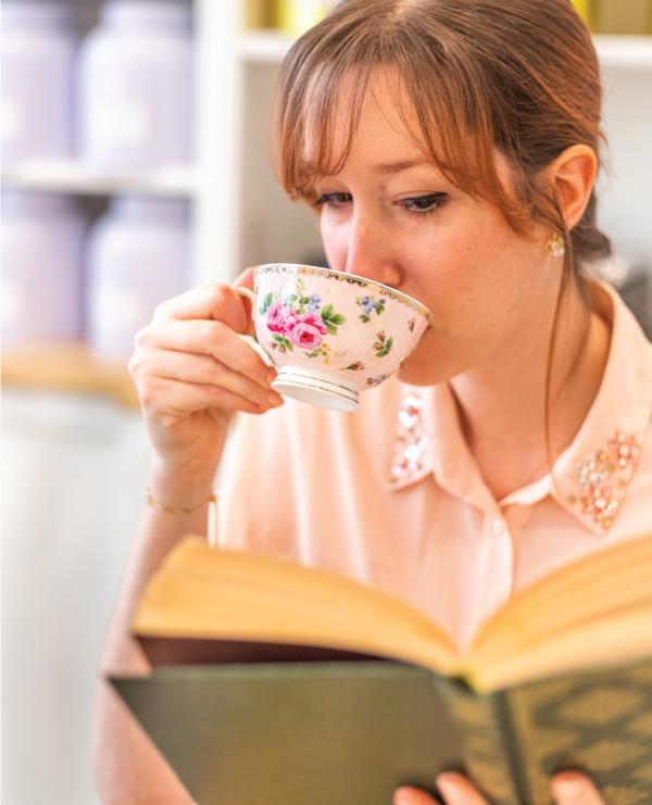 Floriane Tea time Le Jardin de Mademoiselle