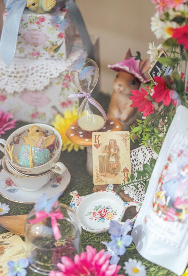 Le Jardin de Mademoiselle Alice aux Pays des Merveilles thé oolong violette