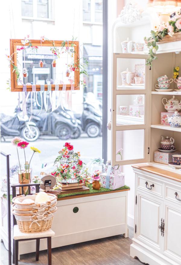 Le Jardin de Mademoiselle Boutique de thé Paris