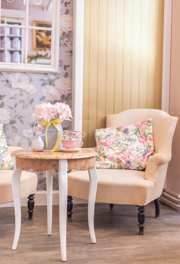 Le Jardin de Mademoiselle Salon de thé Paris