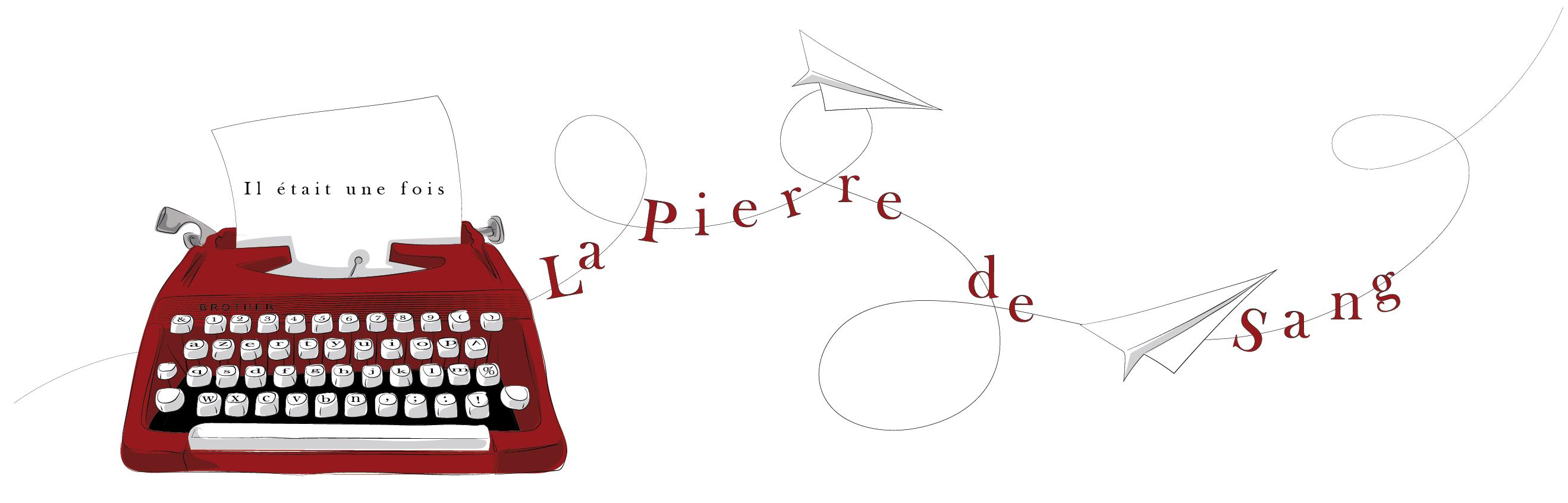 La Pierre de Sang, Floriane Impala Roman de High fantasy